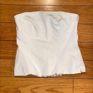 White House Black Market strapless top